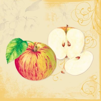 Apple Blossom Lunch Napkin 12/20 CS