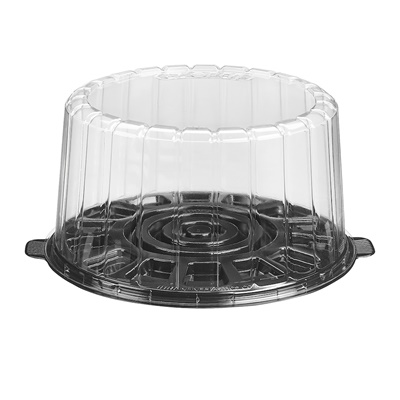 "8"" Dome Cake Container Combo 1008BK"