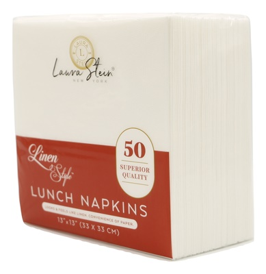 Linen Style LUNCH Napkins 24/50 CT (LSLN)