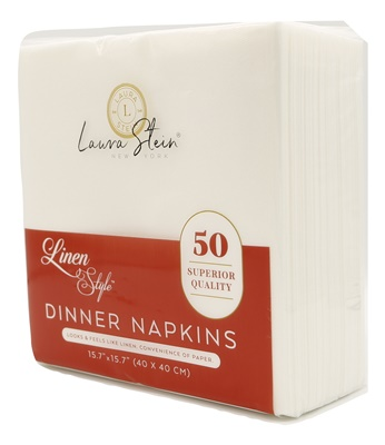 Linen Style DINNER Napkins 24/50 CT (LSDN)