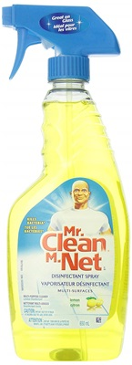 Mr Clean Spray Multipurpose Lemon9X22 Oz 46158