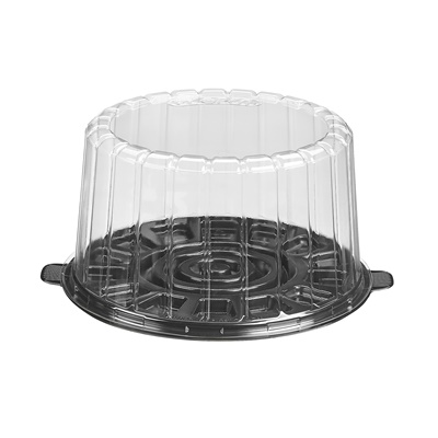 "7"" Dome Cake Container Combo 1007BK"