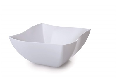 Wavetrends White Serving Bowl 8 oz. 20/4PK Fineline 180-WH