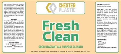 Fresh Scent Cleaner 4/1 GAL