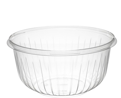 48 oz Clear PET Bowl 250/CS Dart PresentaBowls PET48B