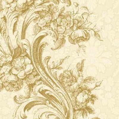Baroque Style Gold Lunch Napkin 12/20 CS (000209)