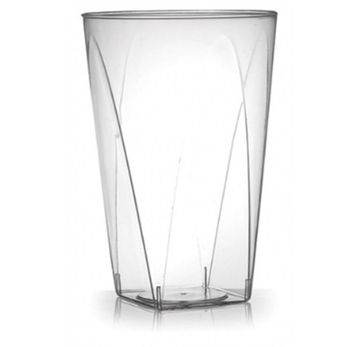 Savvi Serve 10 Oz Square Bottom Tumbler 25/20 Fineline 410SB