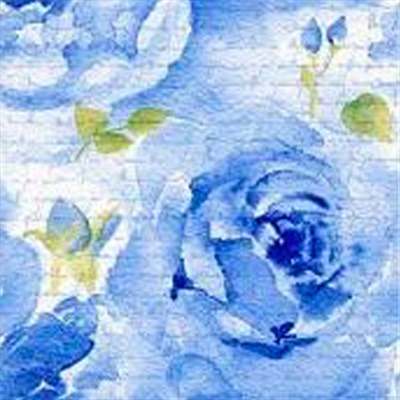 Rosa Delicada Blue Lunch Napkin 12/20 CS (340220)