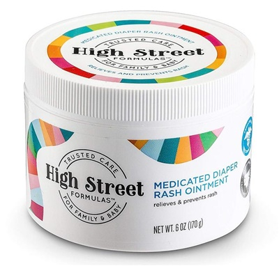 High Street Formulas Medicated Diaper Rash Ointment 6oz