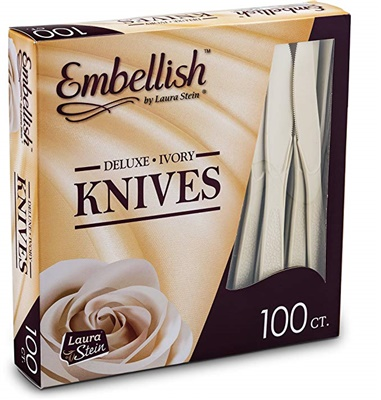 Embellish Deluxe Ivory Knives *In Box* 10/100S