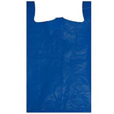 18x7x32 Blue Shopping Bags 300 Bags